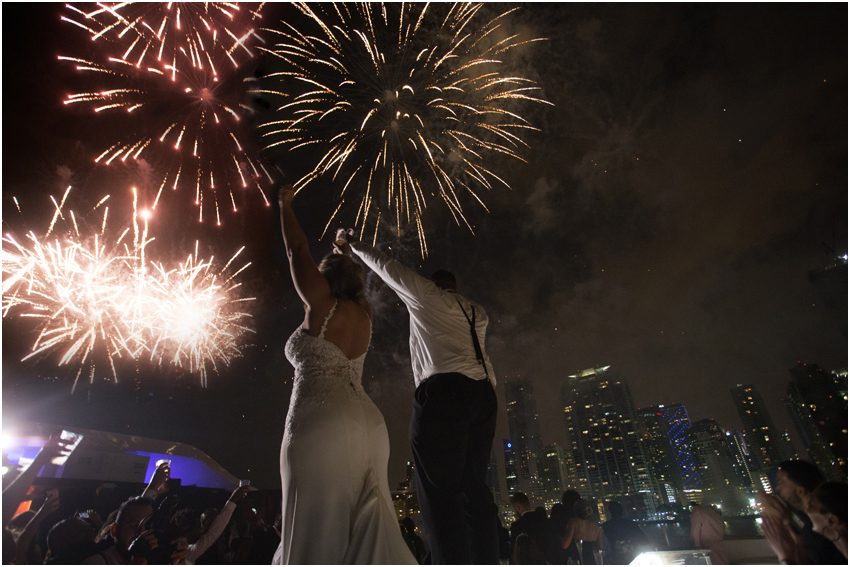 miami seafair yacht wedding video