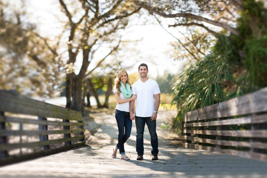 Tree Tops Park Engagement Photography
