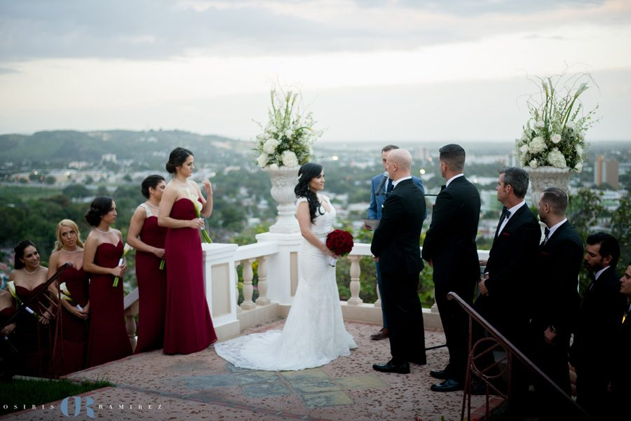 Castillo Serrallés destination wedding