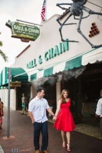 calle ocho engagement photos