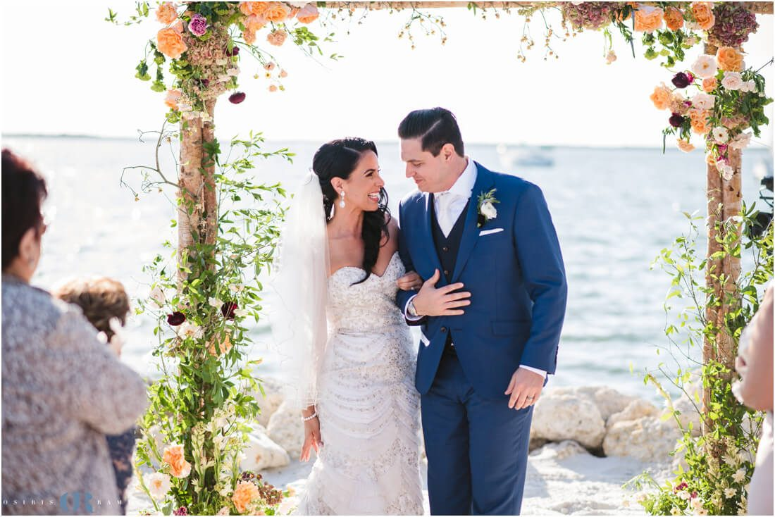 Key Largo beach wedding