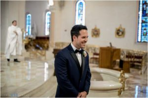 Saint Patrick church wedding