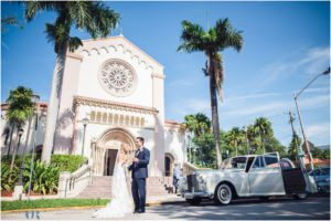 Saint Patrick church wedding Photography