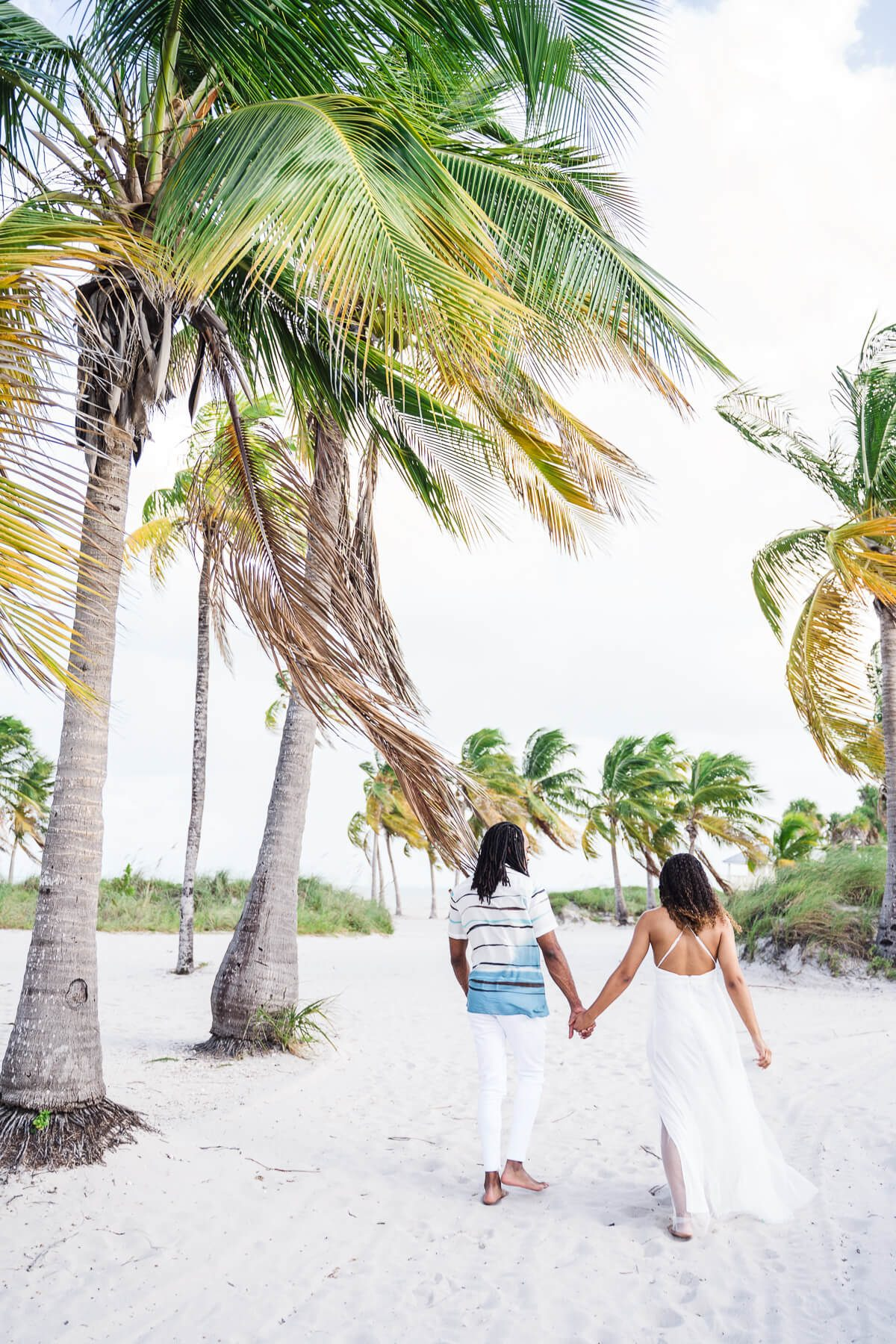 Key Biscayne engagement photos
