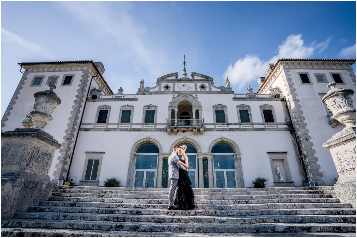 Vizcaya engagement shoot